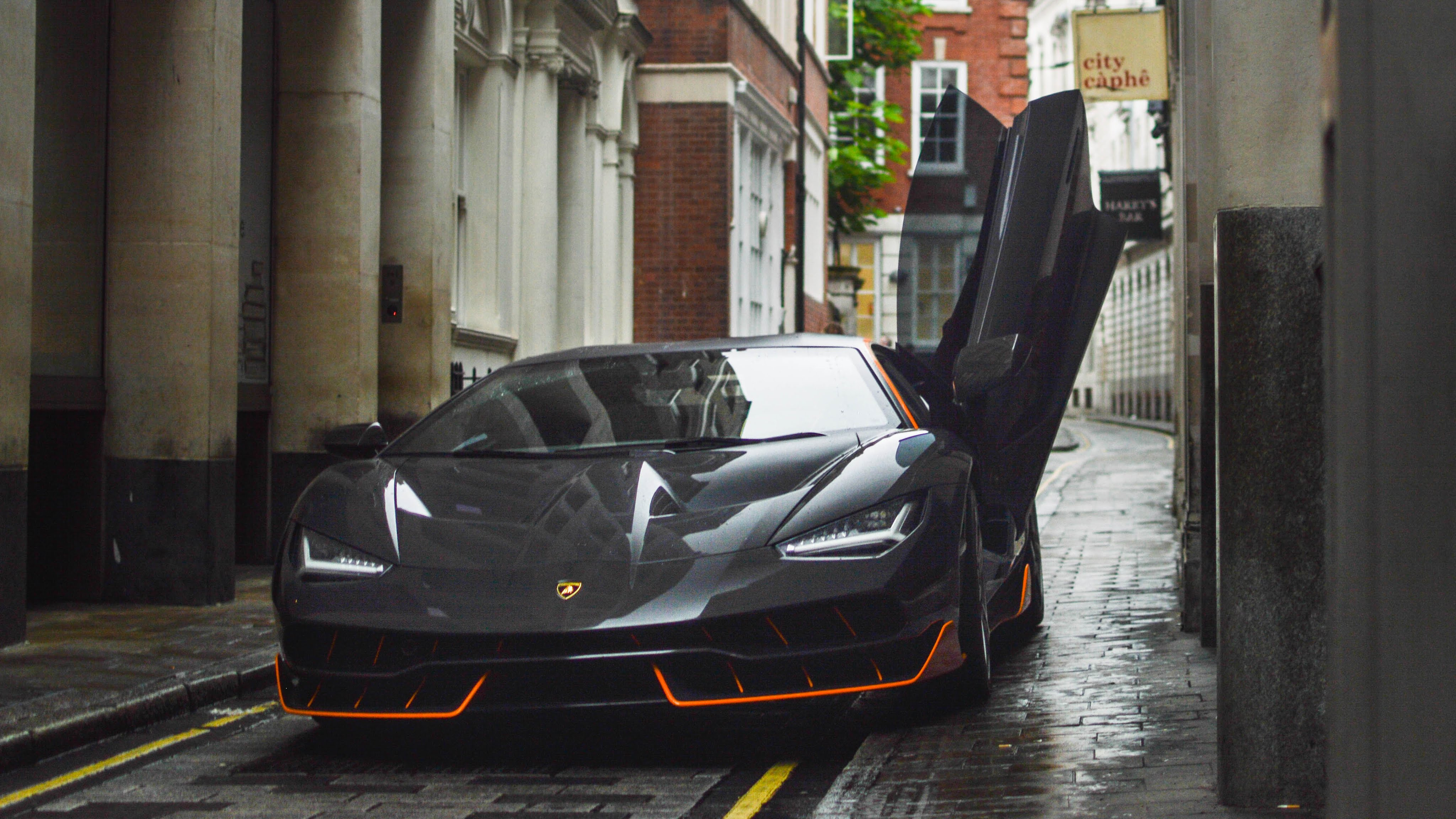 Lamborghini Centenario Spotted On Transformers 5 Movie Set In London