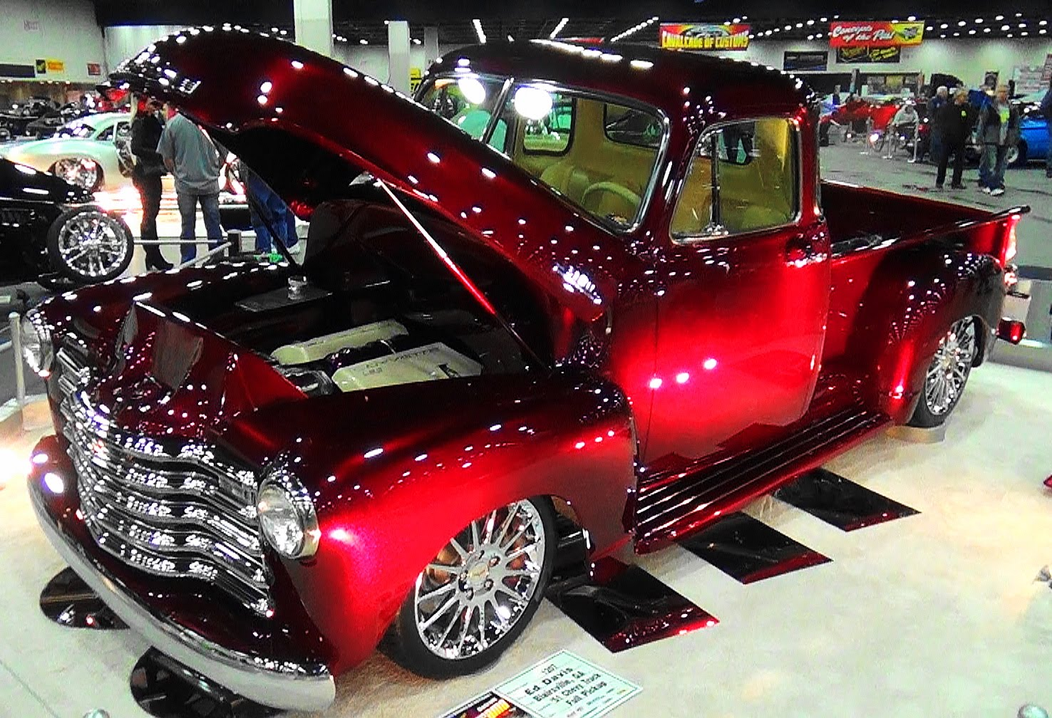 This 51 Chevy 3100 Pickup Is Pure Bliss From The Inside To The Outside