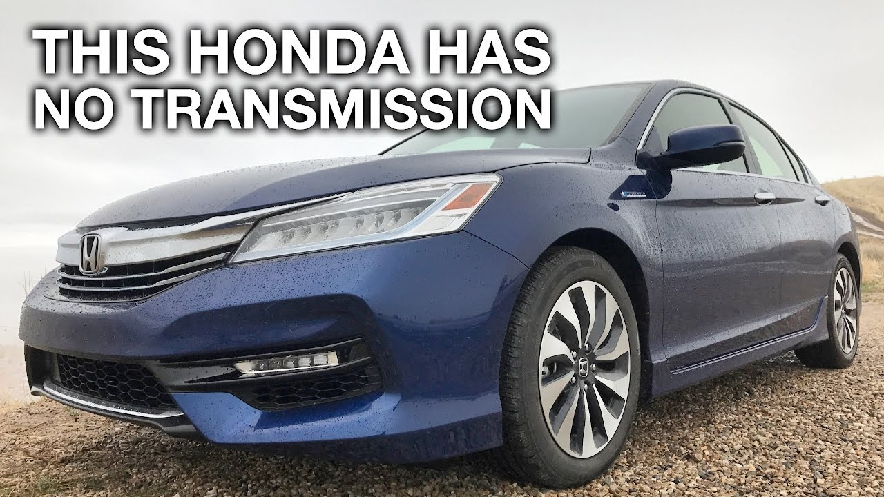 Astonishing Honda Accord Without A Transmission Actually Works And Drives