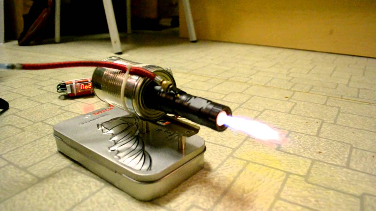 Mini Electric Jet Engine Is An Impressive Diy Project You Gotta Check Out