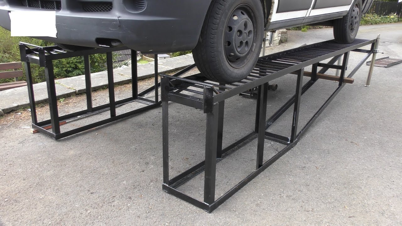 These Heavy Duty Diy Car Ramps Are Genius